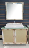 Angelica II - Modern Bathroom Vanity Set - 37""