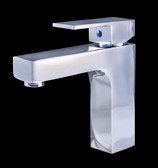 Giovanni - Chrome Finish Modern Bathroom Faucet