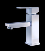 Bianze Chrome Finish Modern Bathroom Faucet