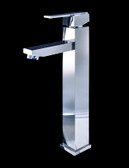Treviolo Chrome Finish Modern Bathroom Faucet