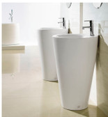 Modern Bathroom Pedestal Sink - Ferrara