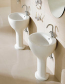 Modern Bathroom Pedestal Sink - Barron