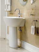 Modern Bathroom Pedestal Sink - Varazze