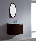 Modern Bathroom Vanity Set - Caltanissetta - 29""
