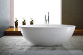 Adalina Freestanding Soaking Tub 71""