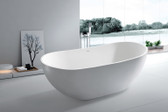 Aalish Freestanding Soaking Tub 64""