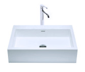 Eden Vessel Sink Solid Surface 24""
