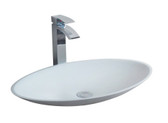 Ca Molini II Vessel Sink Solid Surface 23.2""
