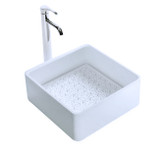 Cloud Solid Surface Modern Bathroom Sink