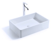 Mozart Vessel Sink Solid Surface 23.5""