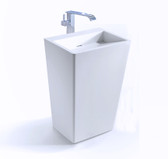 Fazio II - Modern Bathroom Pedestal Sink