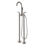 Varese Freestanding Tub Faucet Brushed Nickel