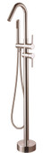 Lazza II Freestanding Tub Faucet Brushed Nickel