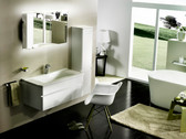 Carla Modern Bathroom Vanity Set 39.5""