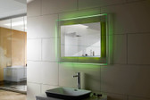 Bellissimo II RGB Colored LED Vanity Mirror with Remote Control
