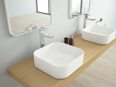 Padua Solid Surface Modern Bathroom Sink