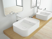 Padua II Solid Surface Modern Bathroom Sink