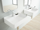 Arezzo Cast Stone Modern Bathroom Wall Mount Sink