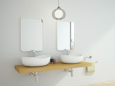 Catanzaro Cast Stone Modern Bathroom Sink