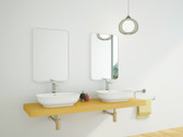 Siena Cast Stone Modern Bathroom Sink