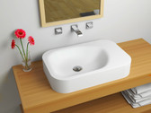 Roma Cast Stone Modern Bathroom Sink