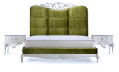 Toulouse Velvet Luxury Bed - King Size Bed