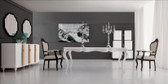 White Dining Table - Angelina