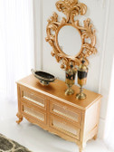 Console Cabinet - Geneve Gold Finish