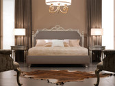 Luxury Bed - Baroque Bed - Ambassador - Taupe