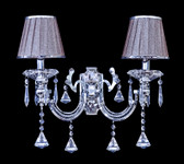 Genoa Crystal Wall Lamp