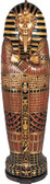 King Tut Sarcophagus Cabinet 6FT