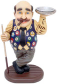 Billiard Player with Ashtray