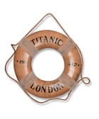 Titanic 1912 lifering Saver Replica