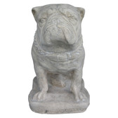 Bulldog Statue - Roman Stone Finish