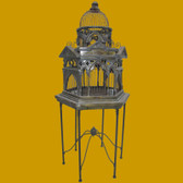 Venetian Decorative Bidcage with Stand Large