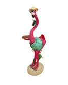 Flamingo Butler Statue 5FT