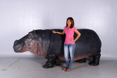 Hippo Life Size Statue