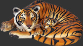 Tigress with Cub Statue