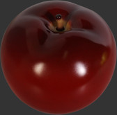 Apple Sculpture - Red - Small