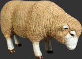Merino Ewe Statue - Small -Head Down