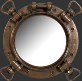 Port Hole Window Mirror