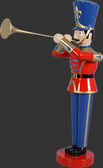Toy Soldier with Trumpet 4 FT