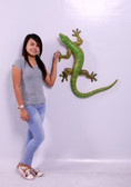 Large Gecko Life Size Statue