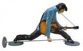 Elvis Statue with Guitar Life Size