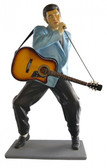 Life Size Elvis Statue playing Guitar and Singing