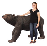 American Black Bear Walking Statue