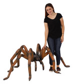 "Large Spider 'Brown Recluse"" Statue"