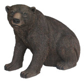 Grizzly Bear sitting Statue