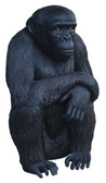 Chimpanzee with crossed arms Statue