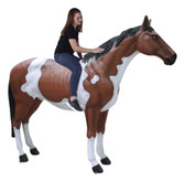Indian Horse Life Size Statue Standing